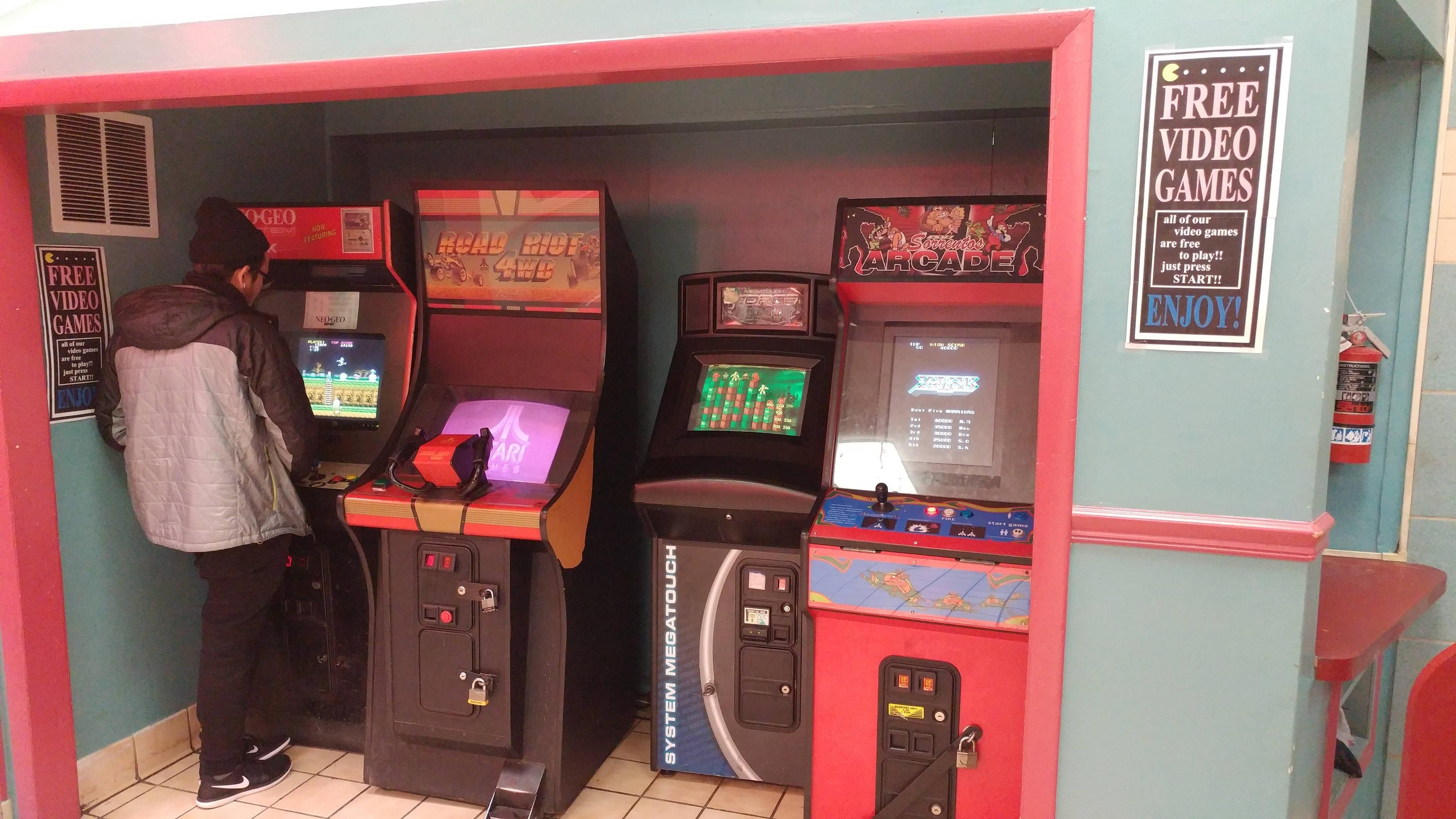 My local pizza place has free arcade games - http://ift.tt/2iQGtAz