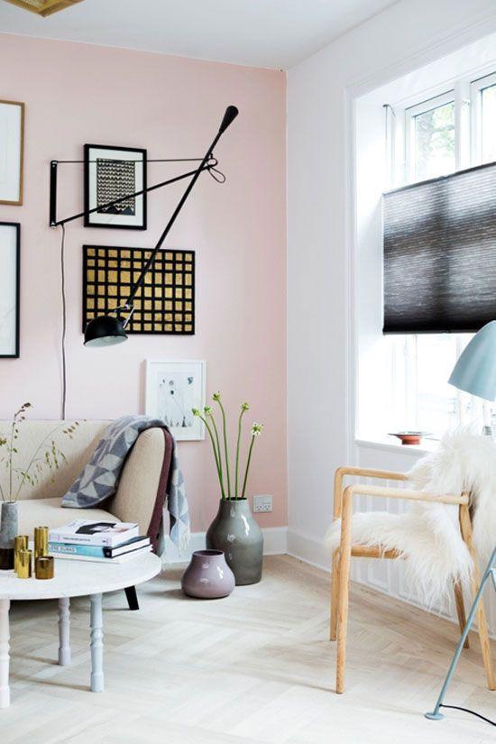 Soft colors y formas geom tricas para pintar las paredes - Pintar facil paredes ...