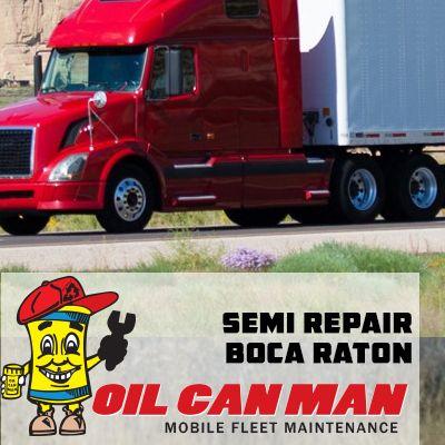 Hr Semi Truck Repair Boca Raton By Oil Can Man