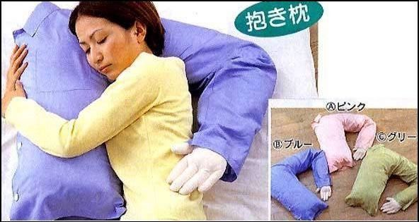 single woman's pillow
