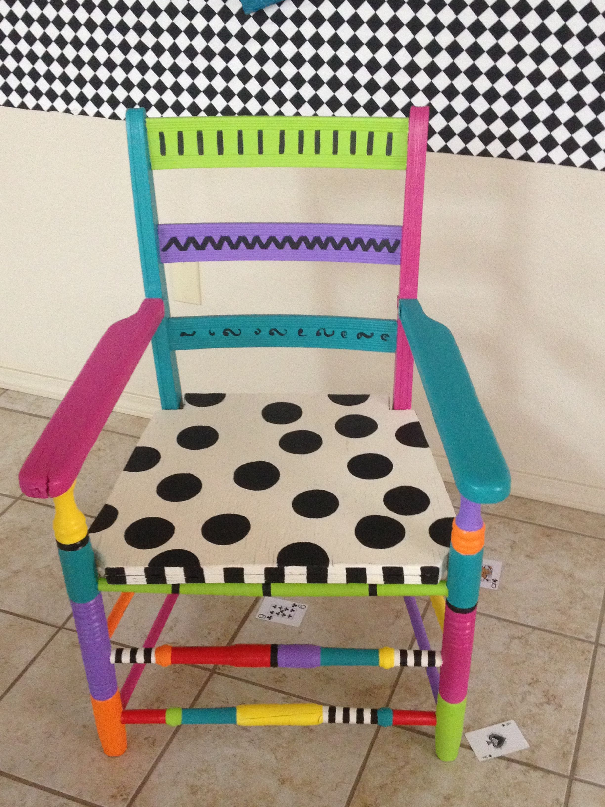 Whimsical chair & Whimsical chair | Unique furniture | Pinterest | Whimsical Paint ...