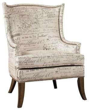 Merveilleux Paris Accent Chair   Traditional   Armchairs And Accent Chairs   Benjamin  Rugs And Furniture