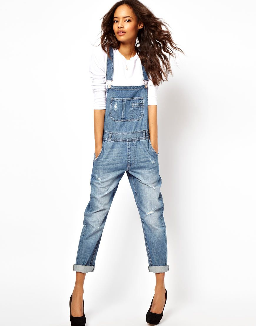 Assez Salopette en jeans : Comment la porter sans erreur   Salopettes  JU88