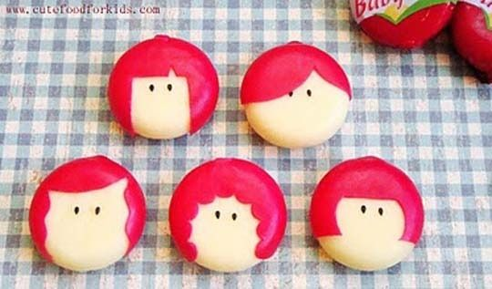 5 ways to make babybel cheese even cuter