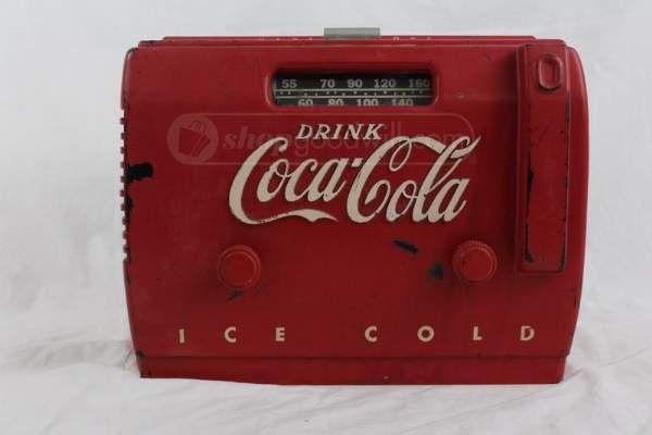 Retro Kühlschrank Cola : Vintage s coca cola am radio vintage coca cola