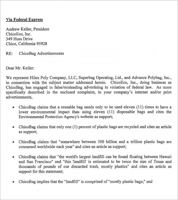 Free Cease And Desist Letter - free cease and desist letter template - cease and desist template