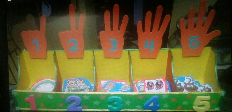 Ordenador de números para niños de preescolar