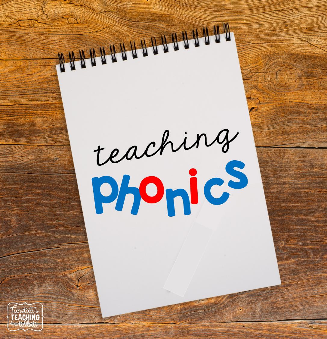 Tunstall S Teaching Tidbits Lesson Planning Ideas Teaching Phonics