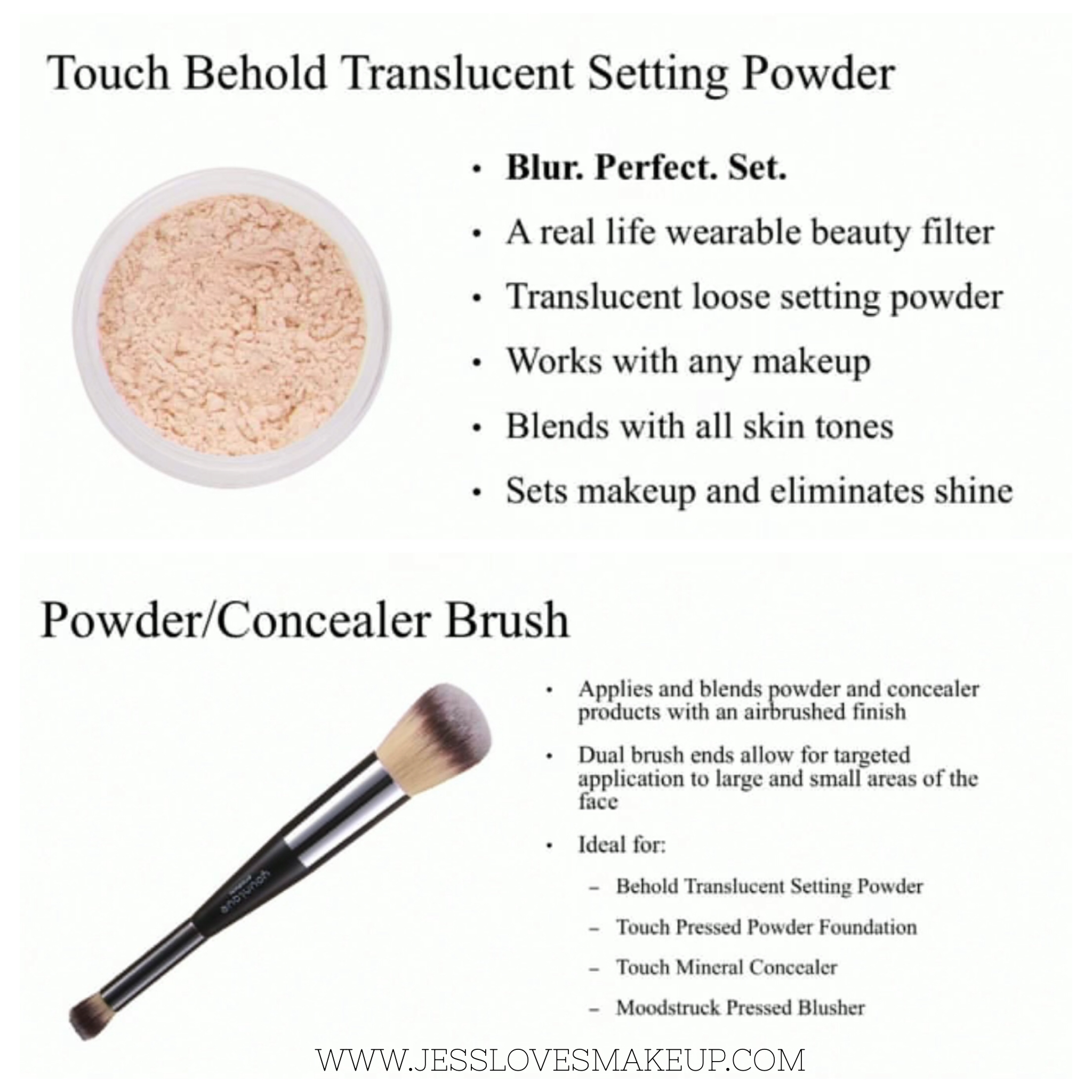 Translucent setting powder younique makeup powder