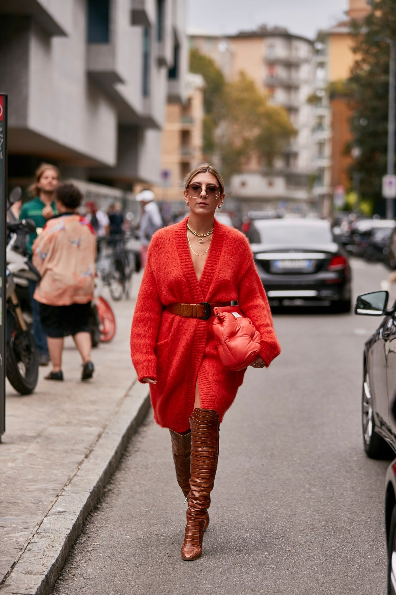 Max Mara's OverTheKnee Boots Were Everywhere on Day 2 of
