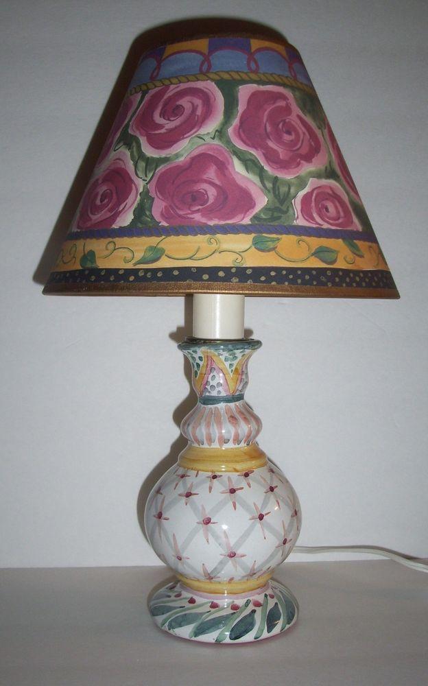 CHILDS   ANTIQUE  LAMP
