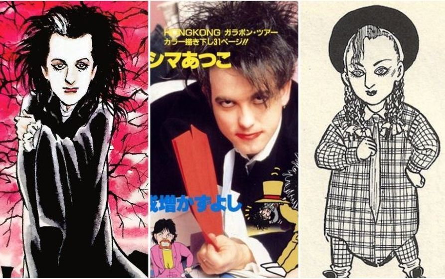 The Cure, Morrissey, and more in unique Japanese manga