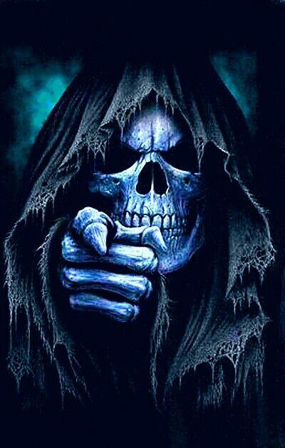 Pin By Griffit Fred On Karanlik Grim Reaper Art Skull Wallpaper Skull Art
