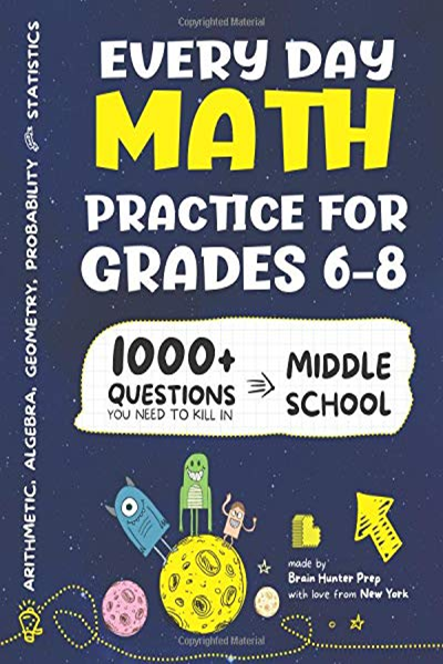 (2018) Every Day Math Practice: 1000+ Questions You Need ...