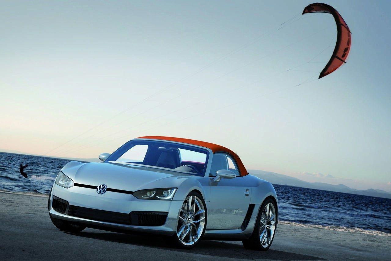VW Concept Blue Sports Volkswagen, Concept cars