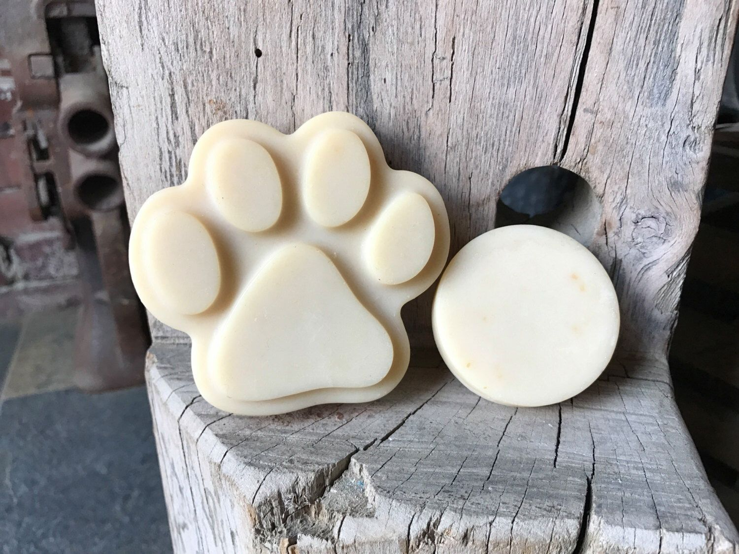A personal favorite from my Etsy shop https://www.etsy.com/listing/493710307/dog-bar-soap-dog-soap-goats-milk-all