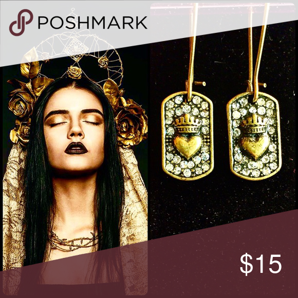 Custom-made for the queen in you Don't forget your worth Jewelry Earrings