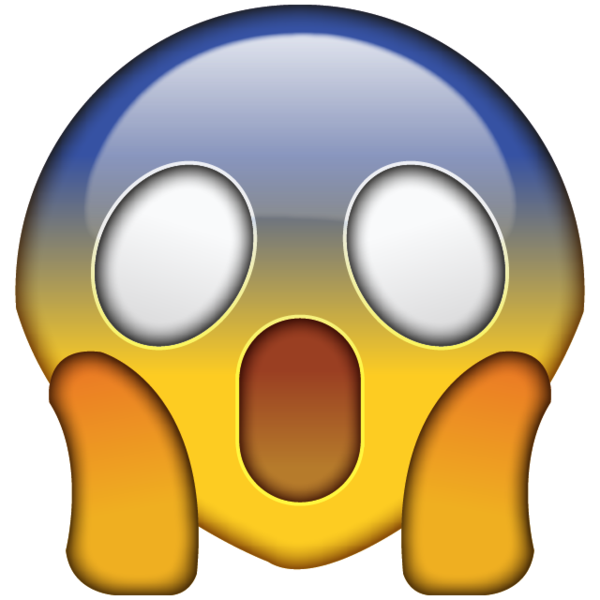 Image result for scared face emoji