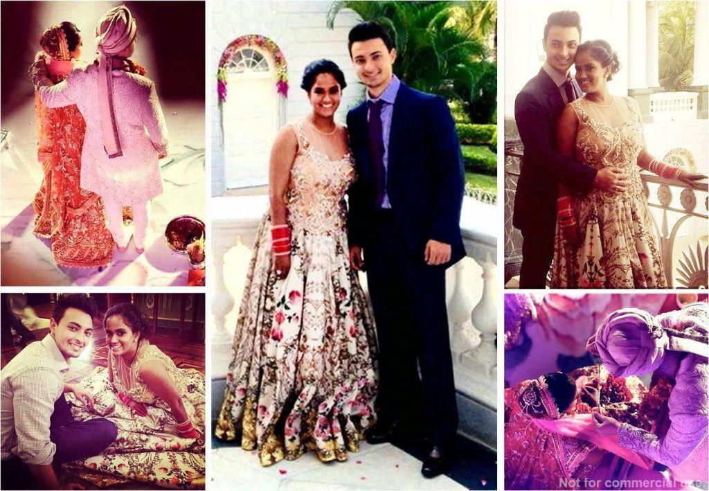 Arpita Khan, Ayush Sharma, Celebrity Wedding, Indian