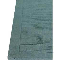 Photo of benuta Naturals Wollteppich Uni Türkis 160×230 cm – Naturfaserteppich aus Wollebenuta.de