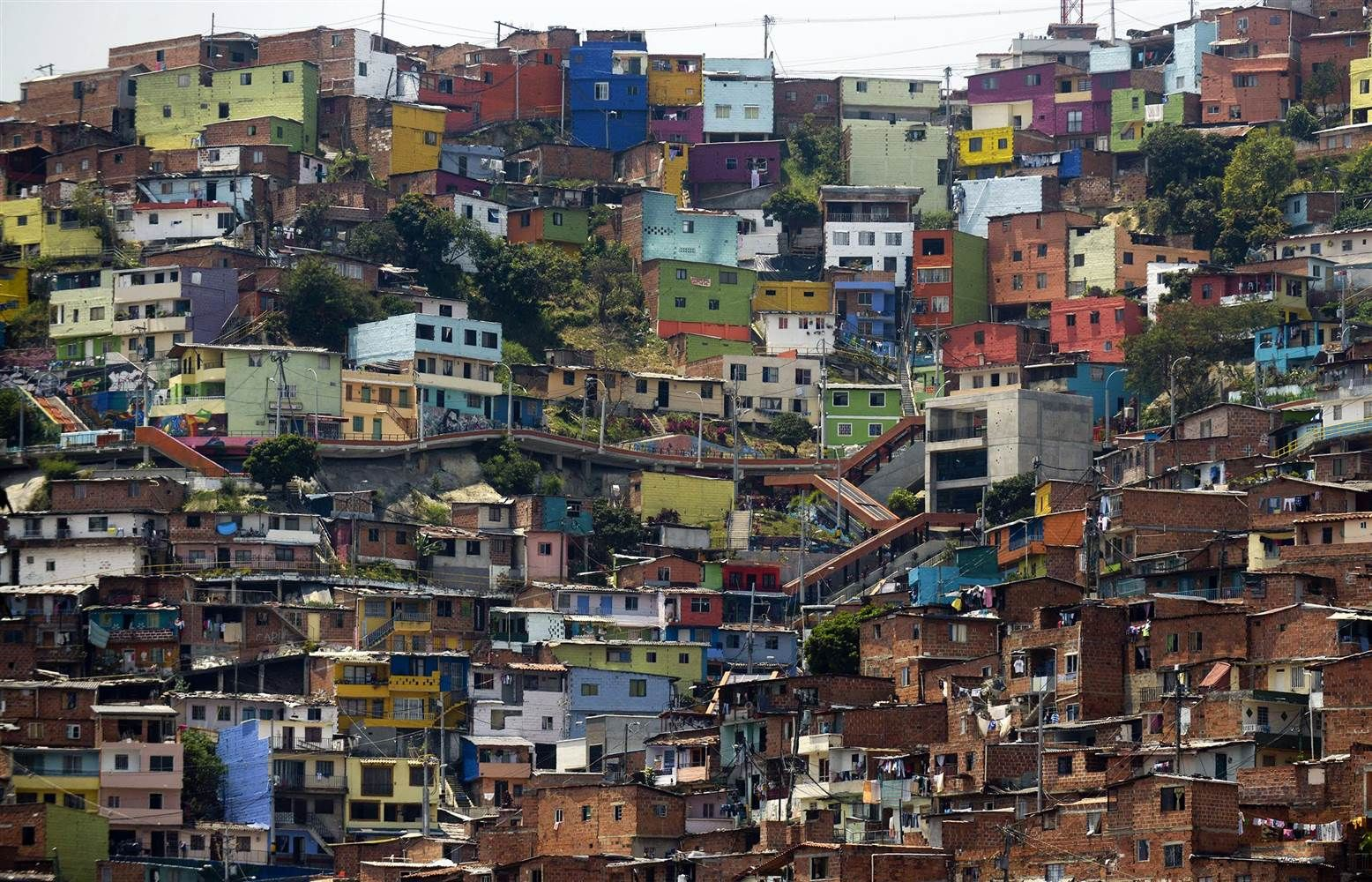 Medellins Comuna Shows Off Murals Ahead Of World Urban Forum - Poorest place in the world