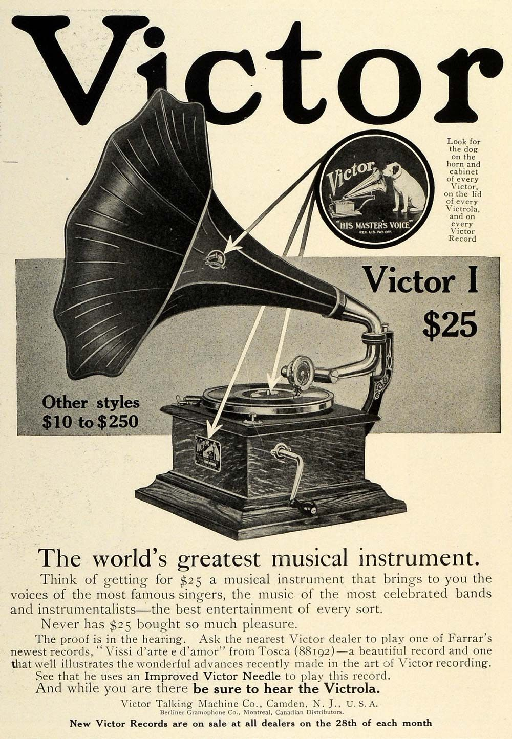 Pin On Quot His Master S Voice Quot