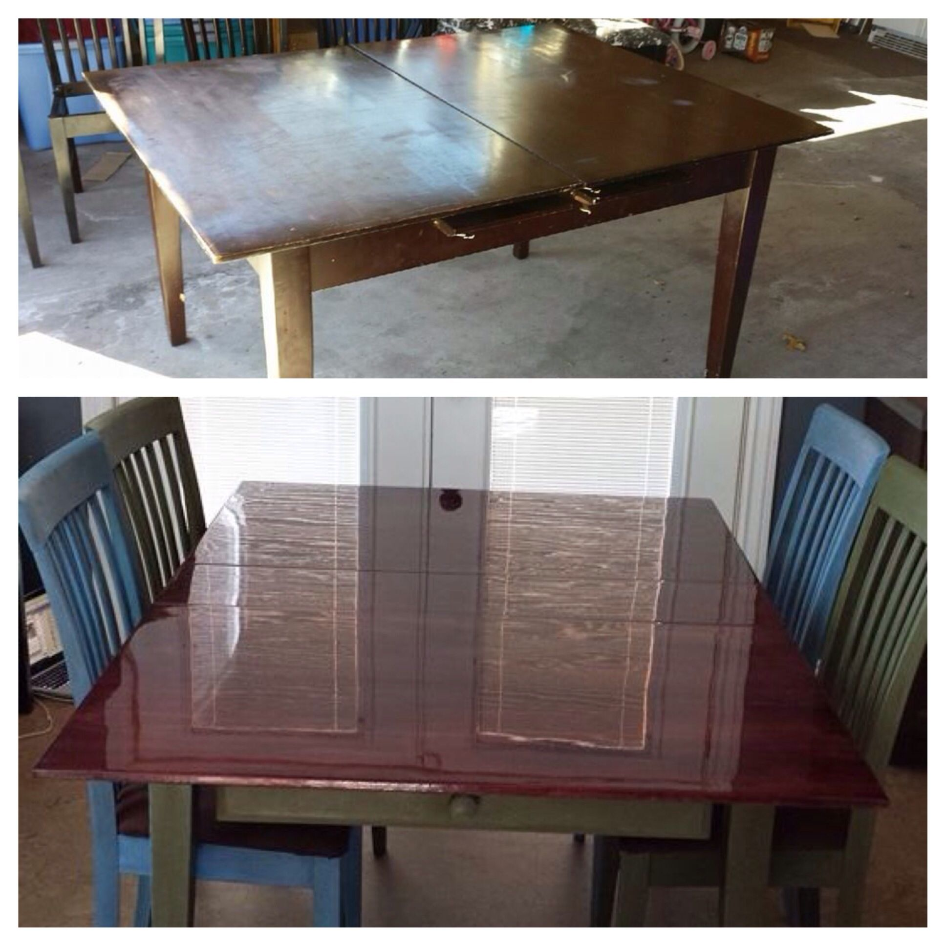 Reclaimed Wood Dining Table Silo Christmas Tree Farm