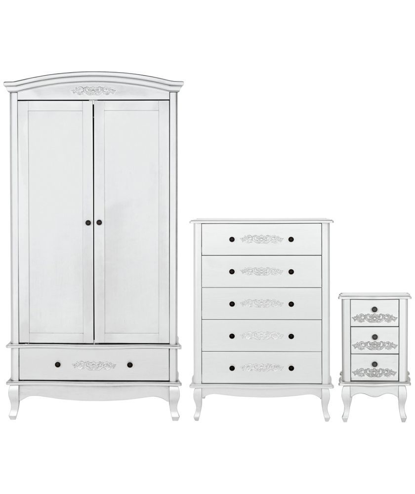 Buy Sophia 3 Piece 2 Door Wardrobe Package White At Your Online Shop For Bedroom