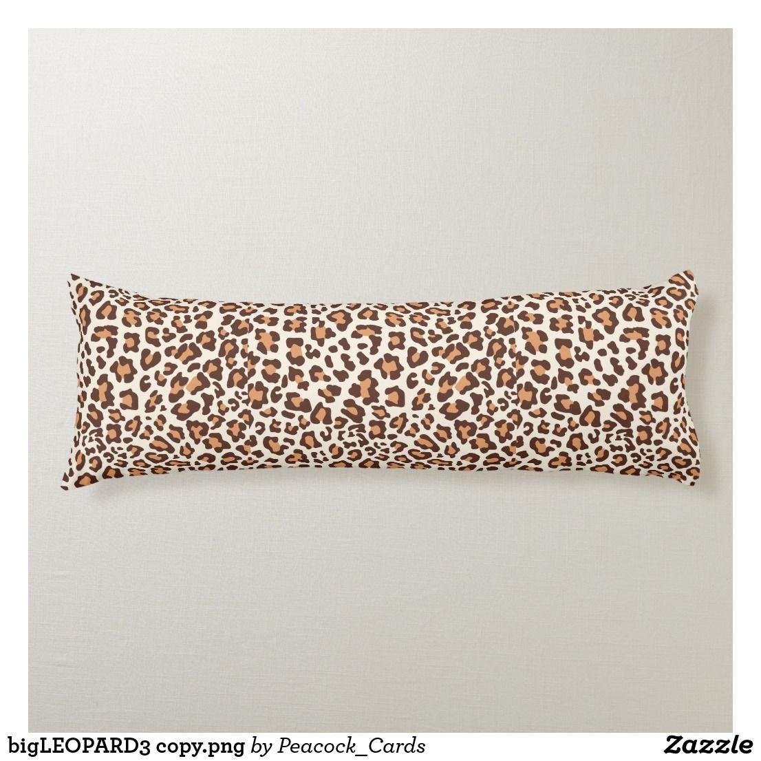 Bigleopard3 Copy Png Body Pillow Zazzle Com Body Pillow Pillows Print Design Pattern