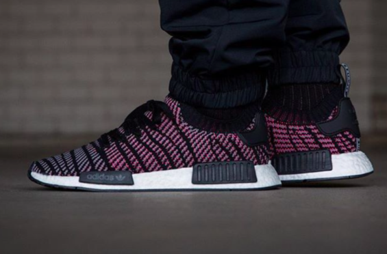 f25732c1fdf3a THE ADIDAS NMD R1 PRIMEKNIT STLT SOLAR PINK IS NOW AVAILABLE in 2019 ...