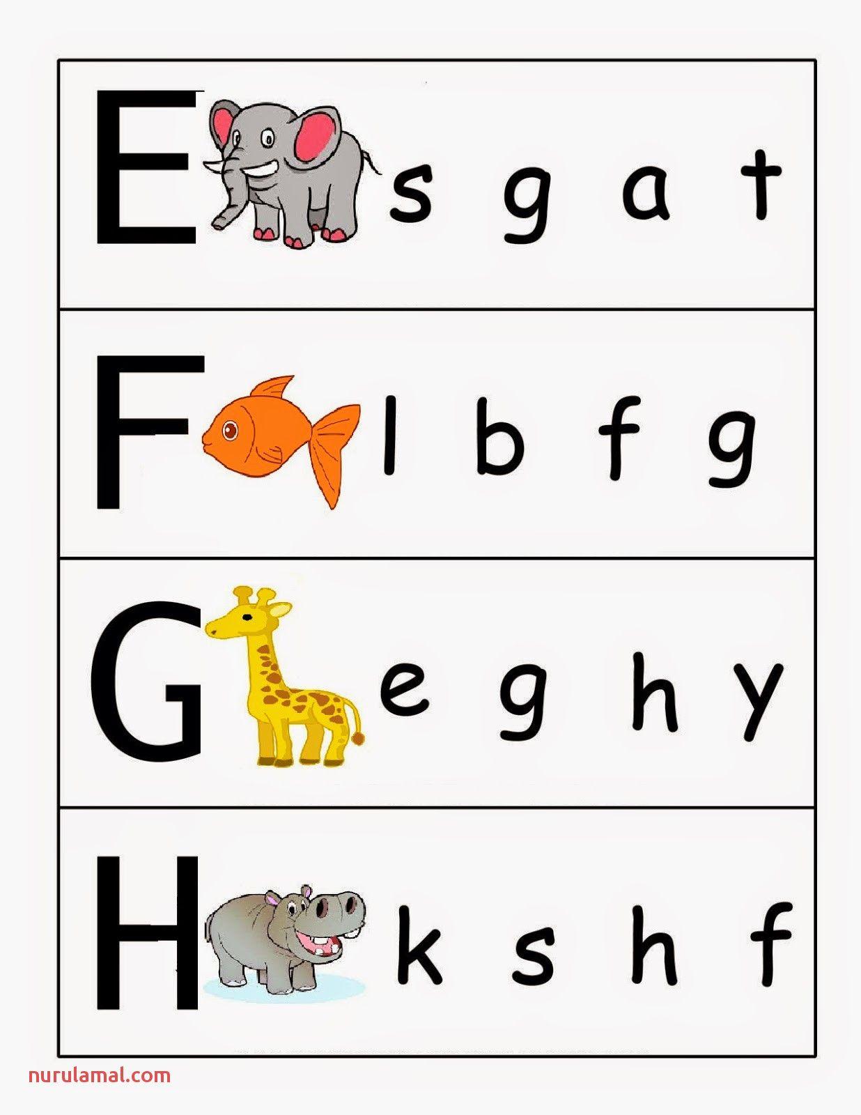 Lowercase Letters Worksheet Kindergarten In