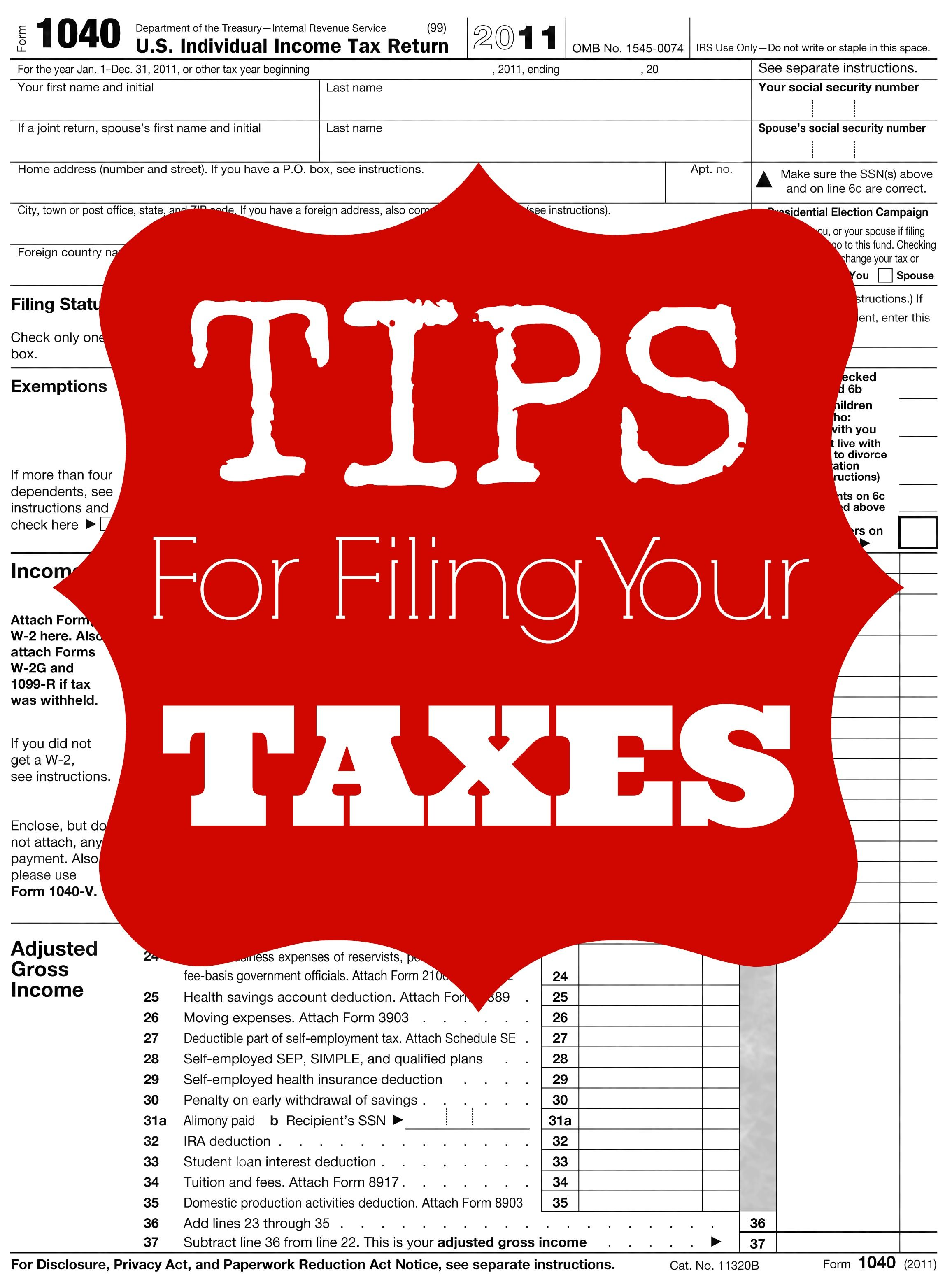 Federal Income Tax Form  Excel Spreadsheet Income Tax