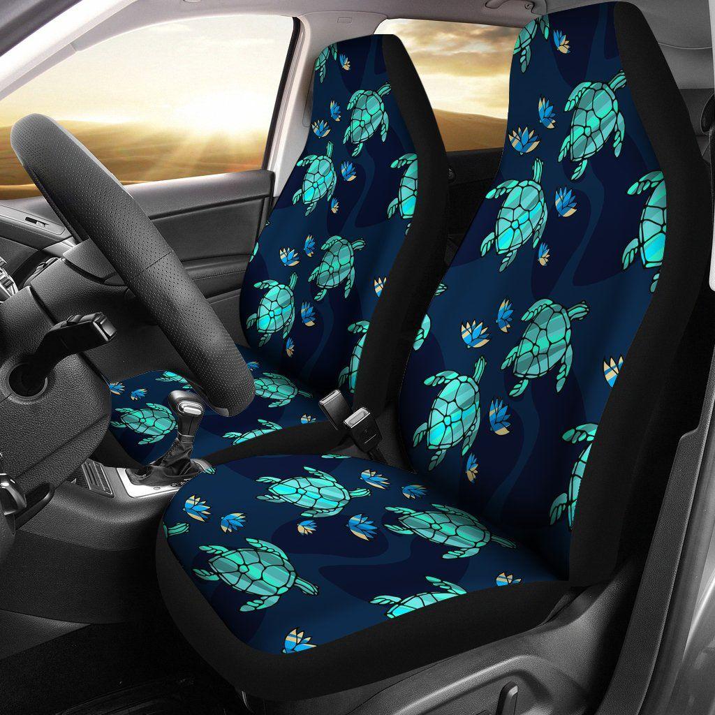 Turtle Love Car Seat Covers Cute Car Accessories Cute