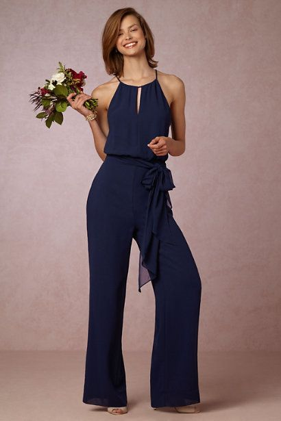 If You Are On The Hunt For The Perfect Dress To Wear To A Wedding This Year Look No Further Besides The Jumpsuit Dressy Charming Dress Bridesmaids Jumpsuits