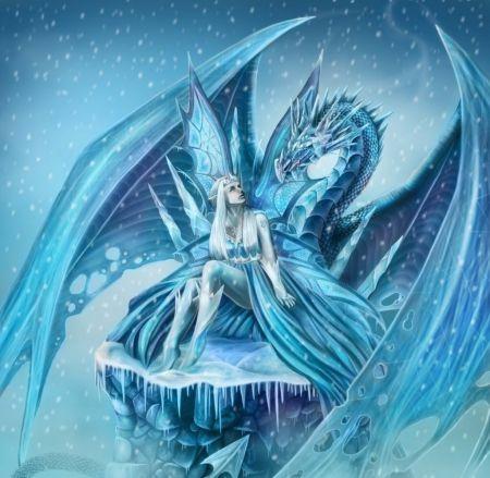 pin cool ice dragon