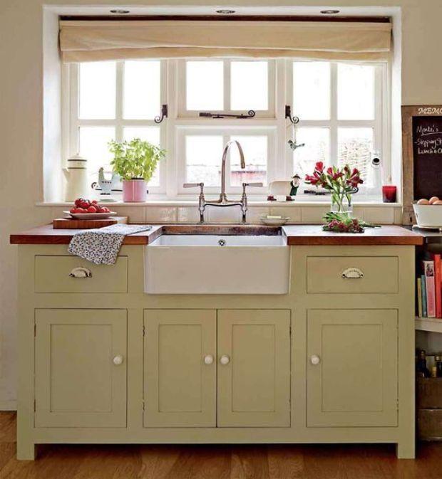 stand alone kitchen sink cabinet | Next Cottage ideas in ...