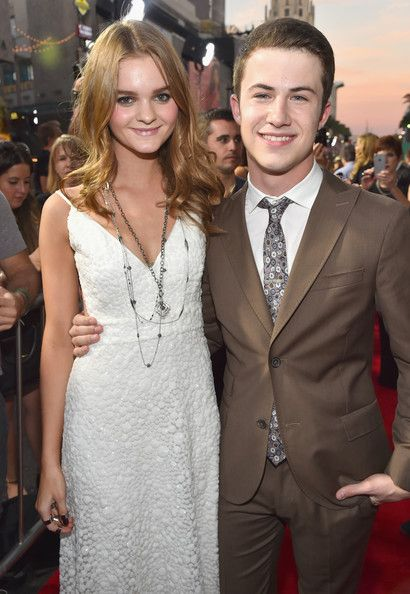 Dylan Minnette with Girlfriend