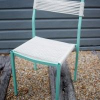 DIY ROPE WRAPPED CHAIR (FROM AN OLD OFFICE CHAIR!) «  a pair & a spare