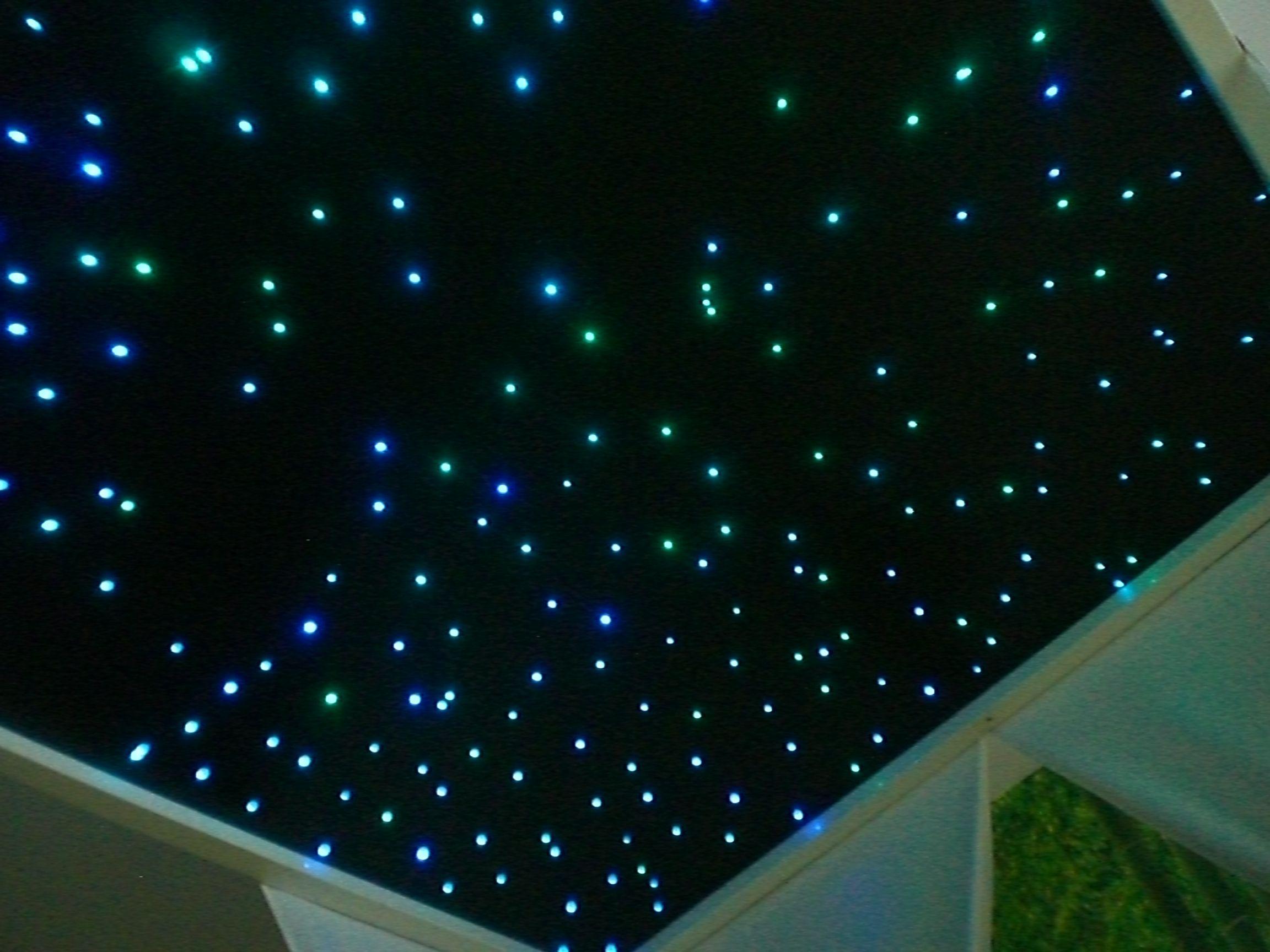 Bauanleitung LEDSternenhimmel  Kinderzimmer