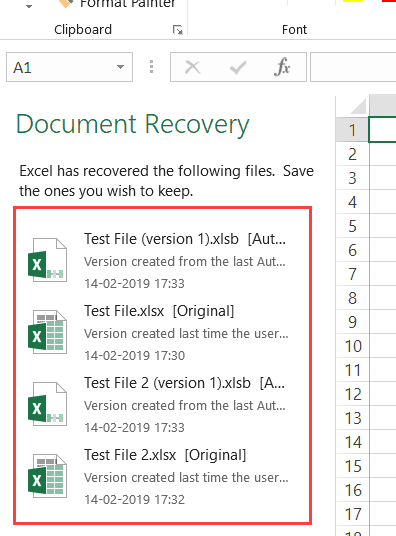 How To Recover Unsaved Excel Files All Options Precautions In 2020 Excel Excel Hacks Excel Tutorials