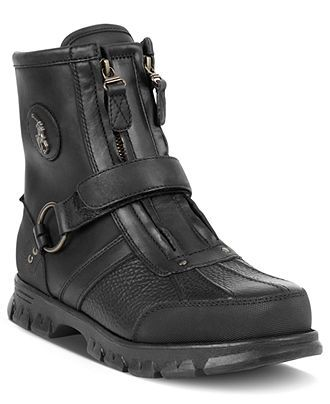 Polo Ralph Lauren Conquest III High Boots - Guys  Shoes - Men - Macy s 1f0dff8a61