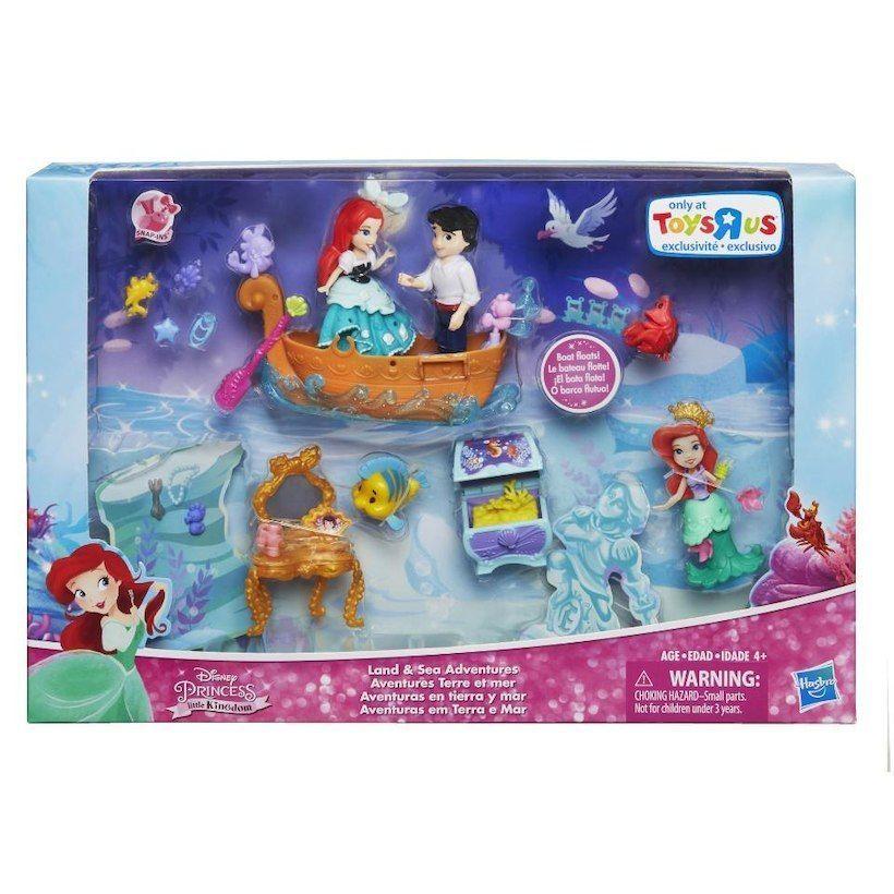 DISNEY Little Mermaid Princess Aerial Little Kingdom TOYS R US Land /& Sea New