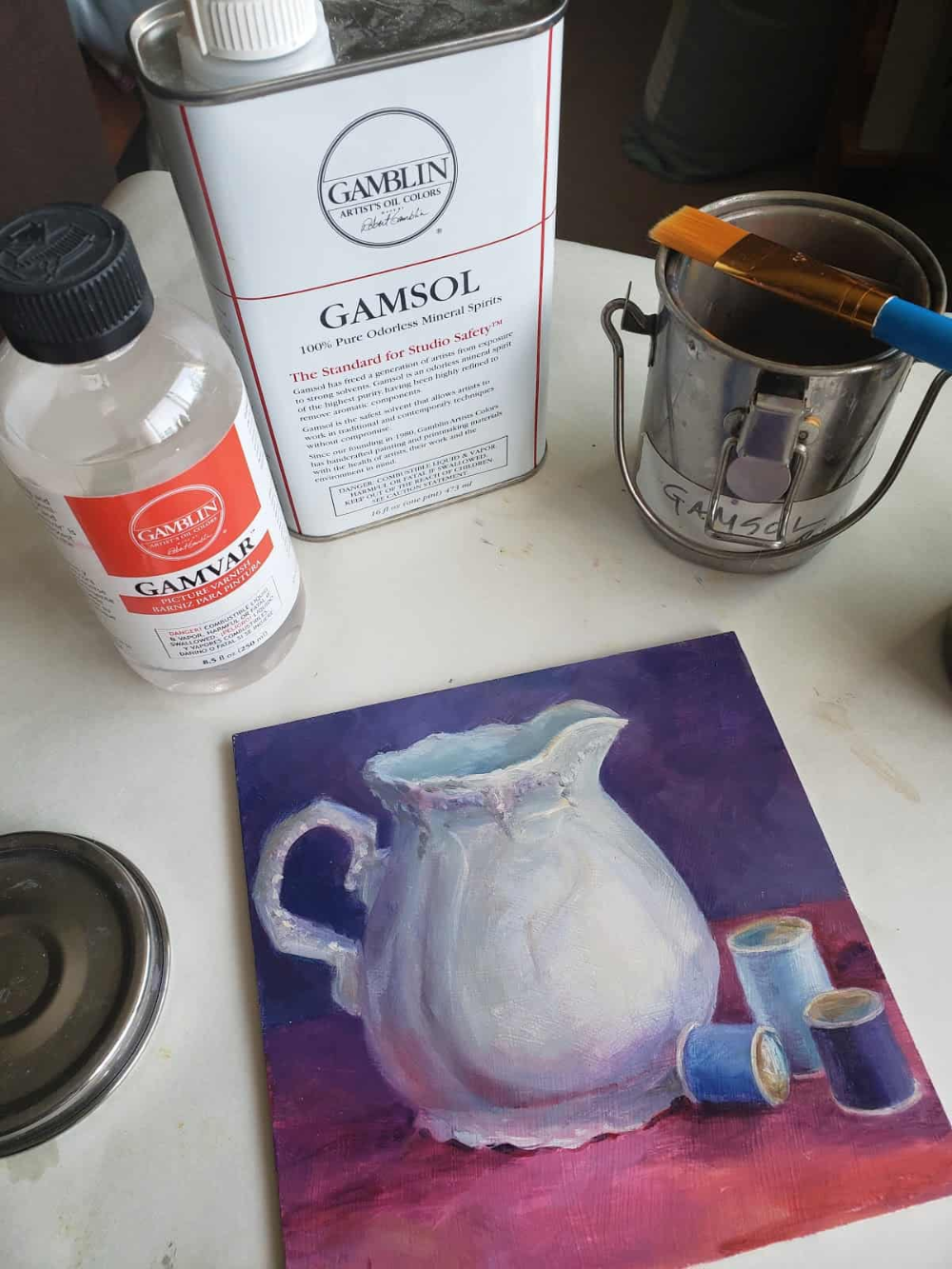 How Long For Oil Paint To Dry : paint, Paints, VeryCreate.com, Painting,, Oils,, Painting