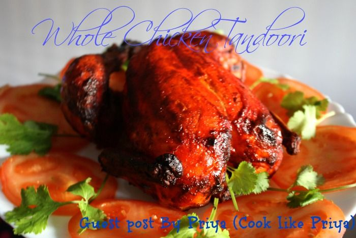Whole Chicken Tandoori / Special Christmas Meal