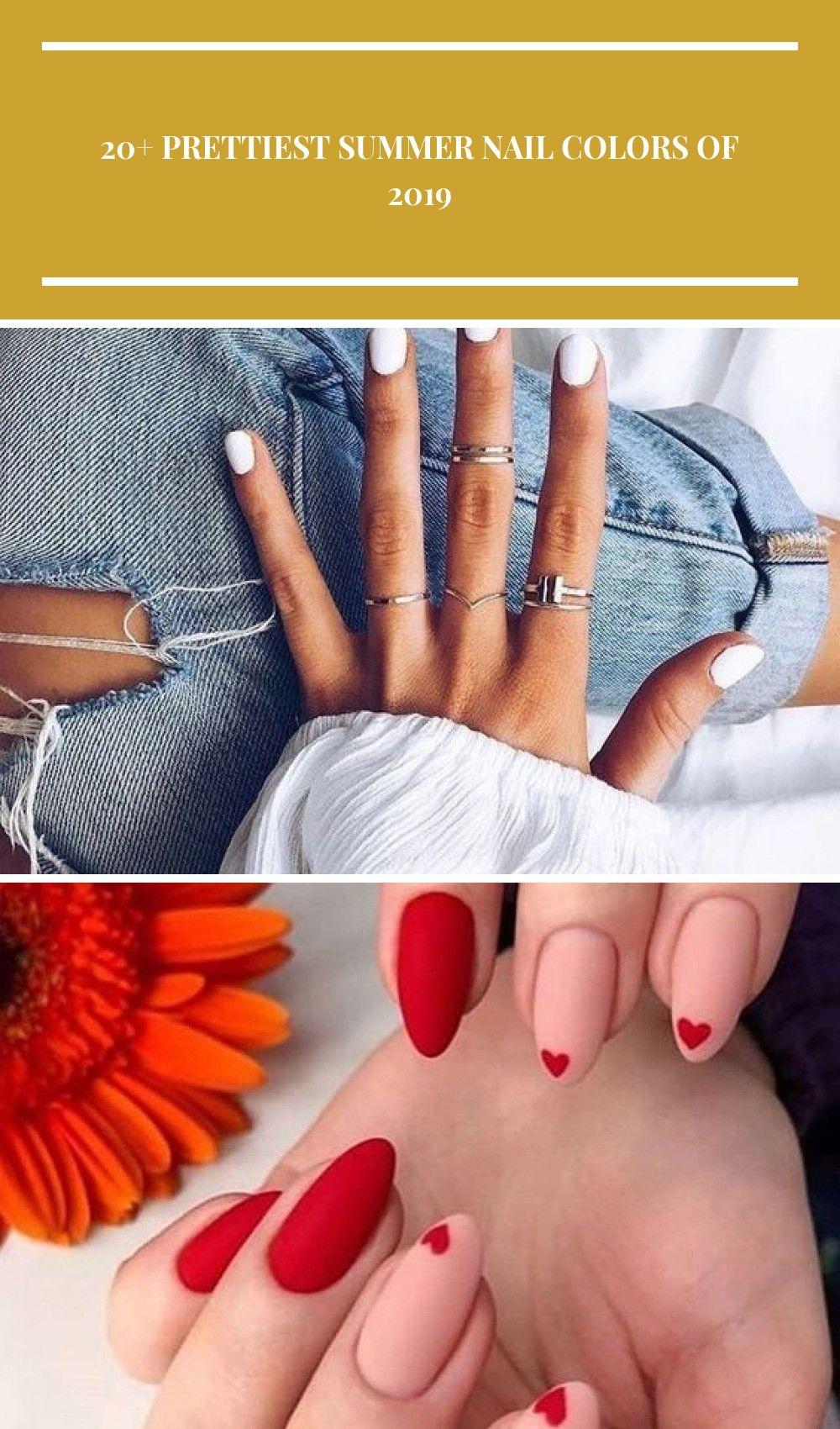 Zomer nagels | zomer nagel kleuren | zomer nagels diy | zomernagels eenvoudig | …