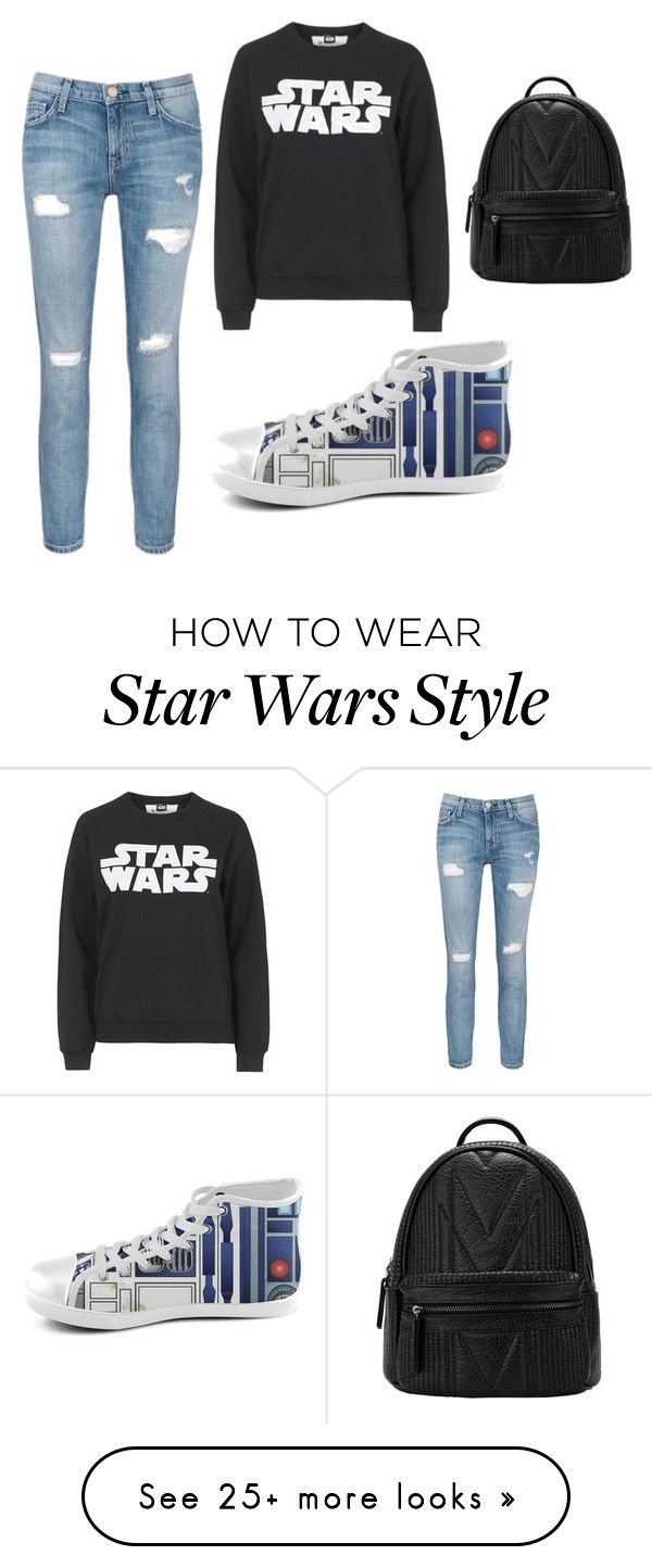 """""""Star Wars, lazy day fashion"""" by aniwhaleanmckean on Polyvore featuring Current/Elliott and Tee and Cake"""