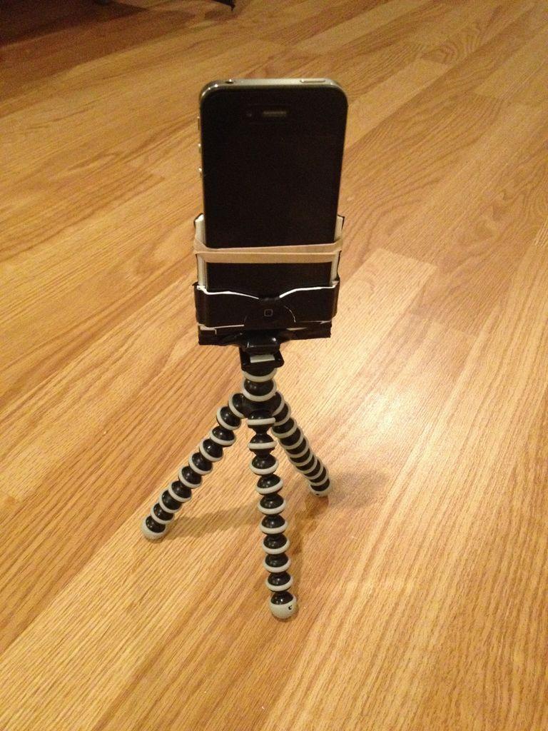 FREE Tripod/Gorillapod IPhone Adaptor | Cell phone hacks ...