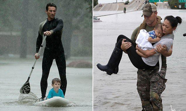 Hero Saves Kids From Hurricane Harvey On His Paddle Board Harvey Hurricane Hurricane Season