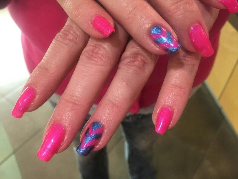 Spring Nails By Amanda At Ginger Bay Natural Nails Manicure Nail Manicure Spring Nails