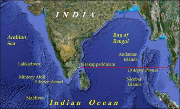 Islands There Are Two Major Island Groups In India I E